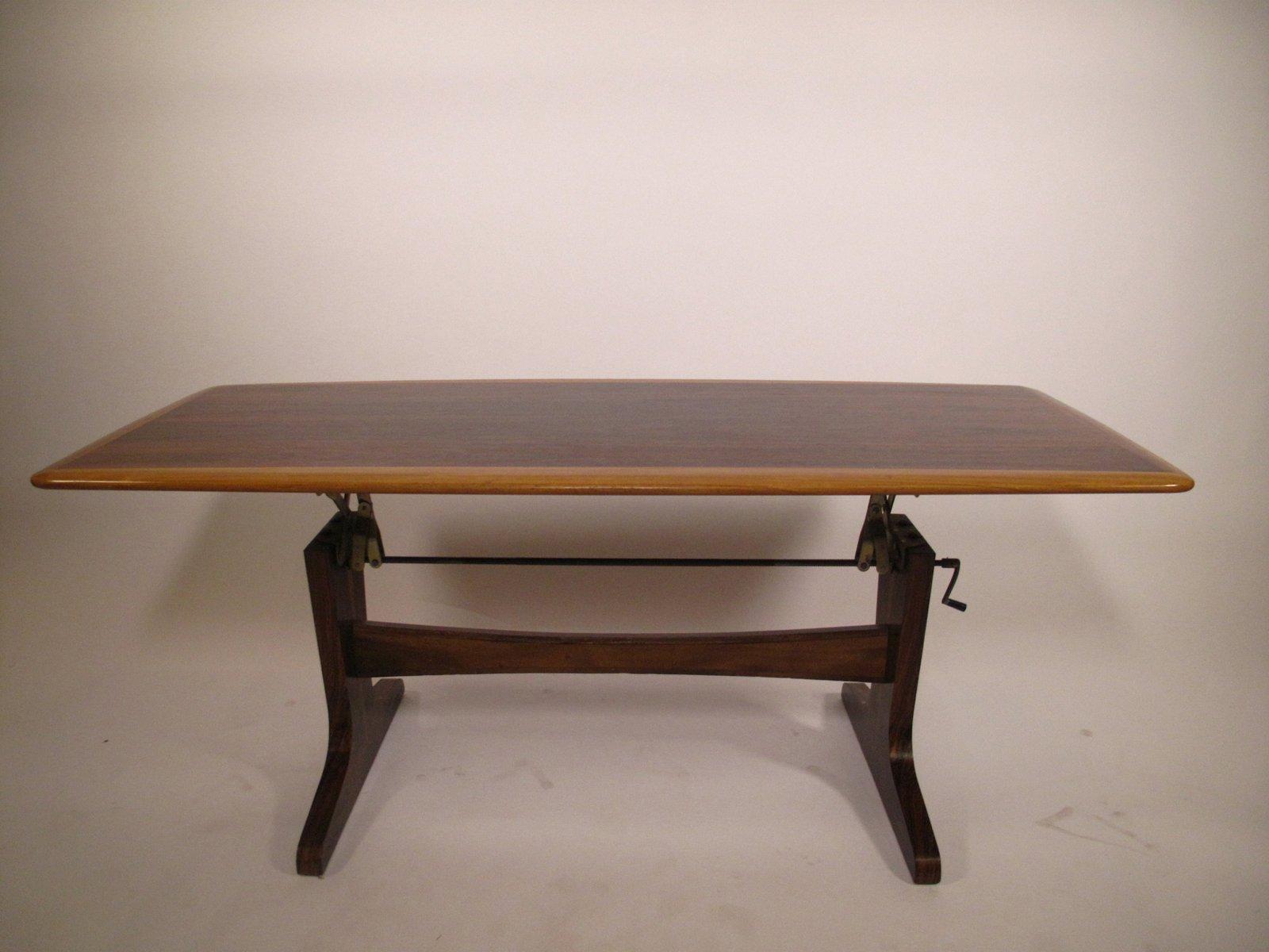 table basse rglable en hauteur 1960s - Table Basse Hauteur Reglable