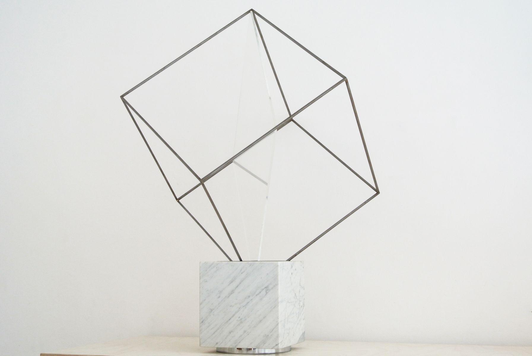 Tulpa Tischlampe von Claudio Salocchi für Lumenform, 1971