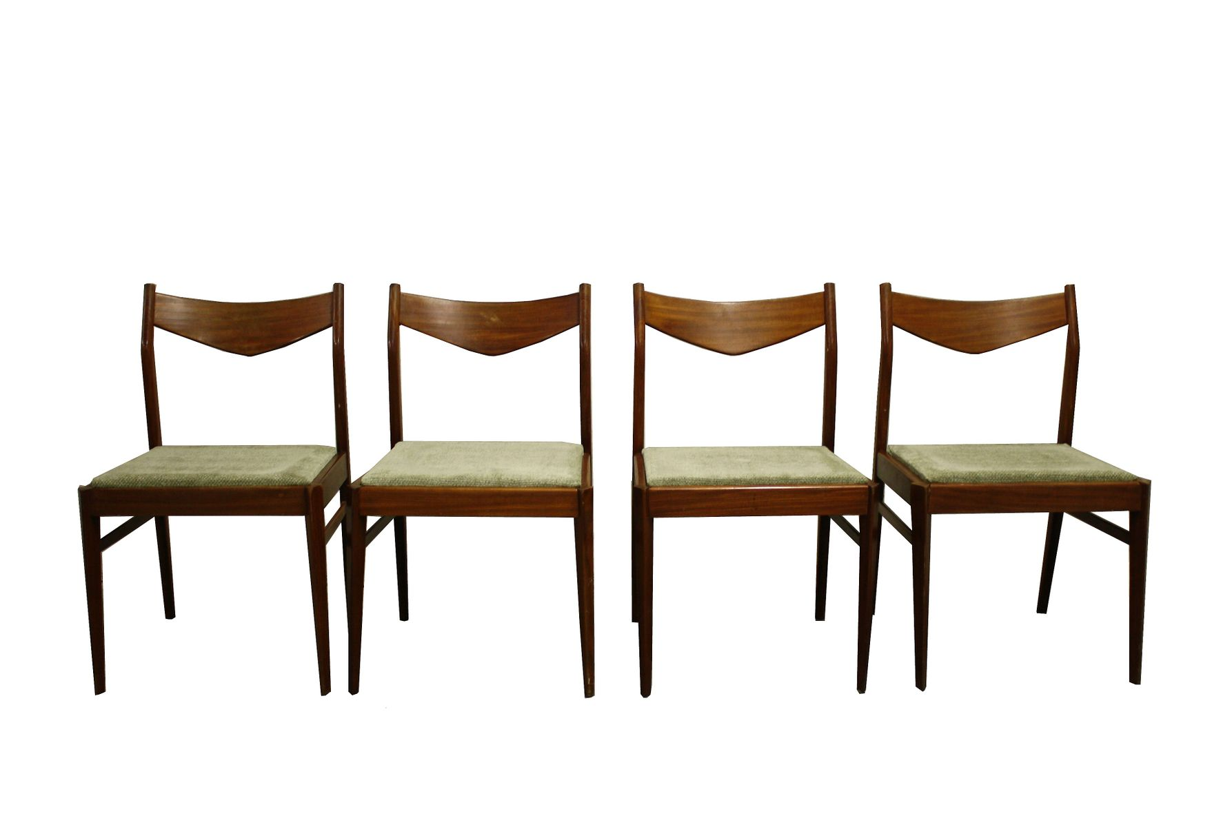 Vintage Scandinavian Dining Chairs 1960s Set of 4  sc 1 st  Pamono & Vintage Scandinavian Dining Chairs 1960s Set of 4 for sale at Pamono