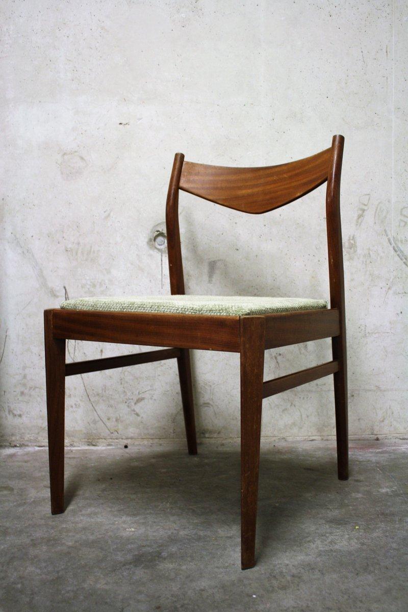 Chaises de salon scandinaves vintage 1960s set de 4 en vente sur pamono - Chaises scandinaves vintage ...