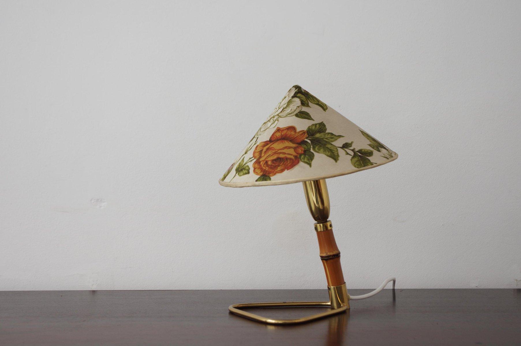 Tischlampe von Rupert Nikoll, 1950er
