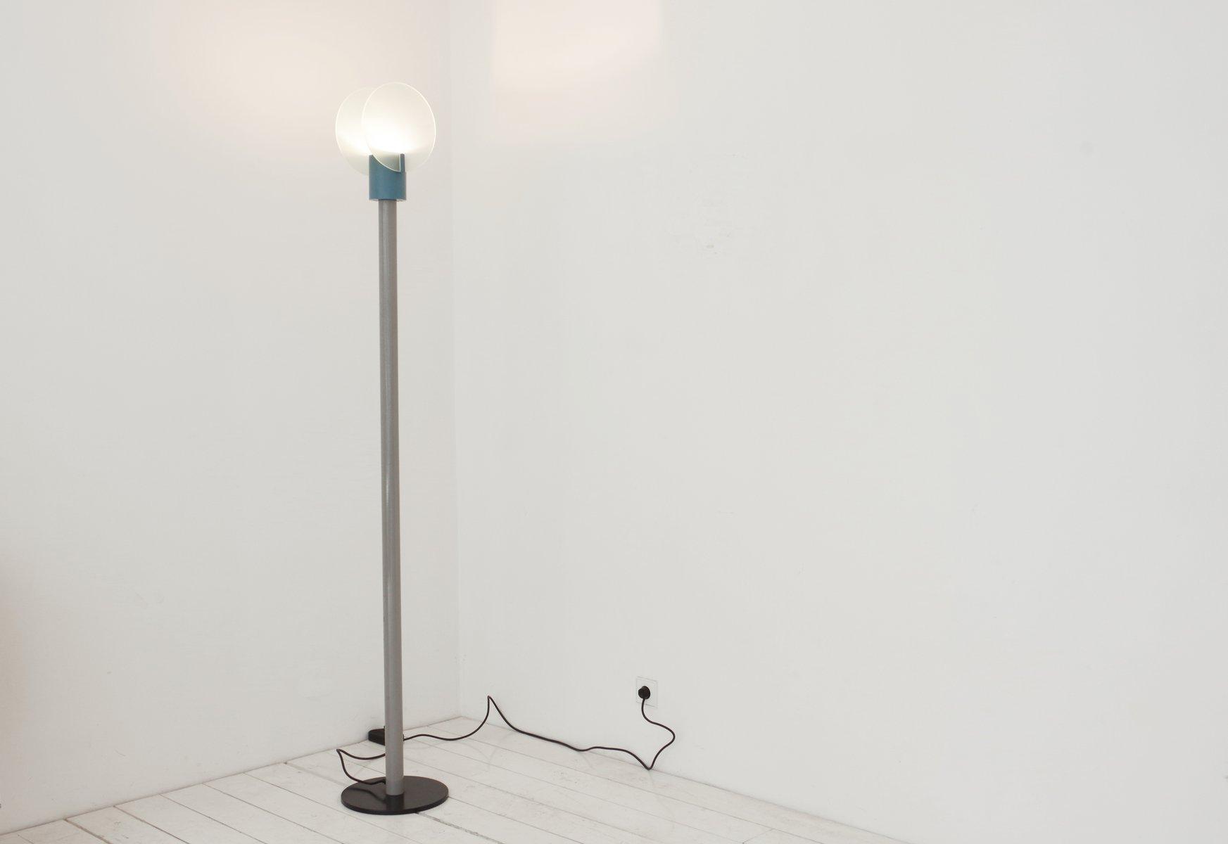 Roll Stehlampe von Michele de Lucci für Bieffeplast, 1980er