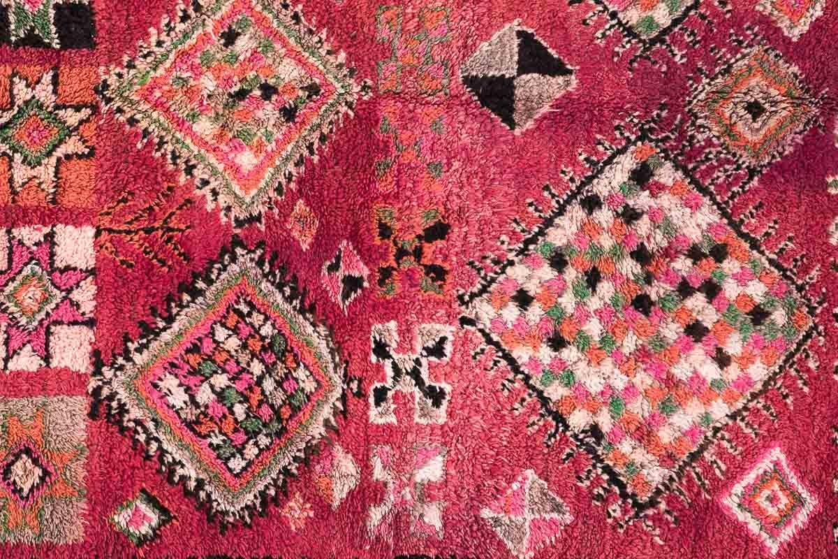 marokkanischer berber teppich von boujad 1970er bei pamono kaufen. Black Bedroom Furniture Sets. Home Design Ideas