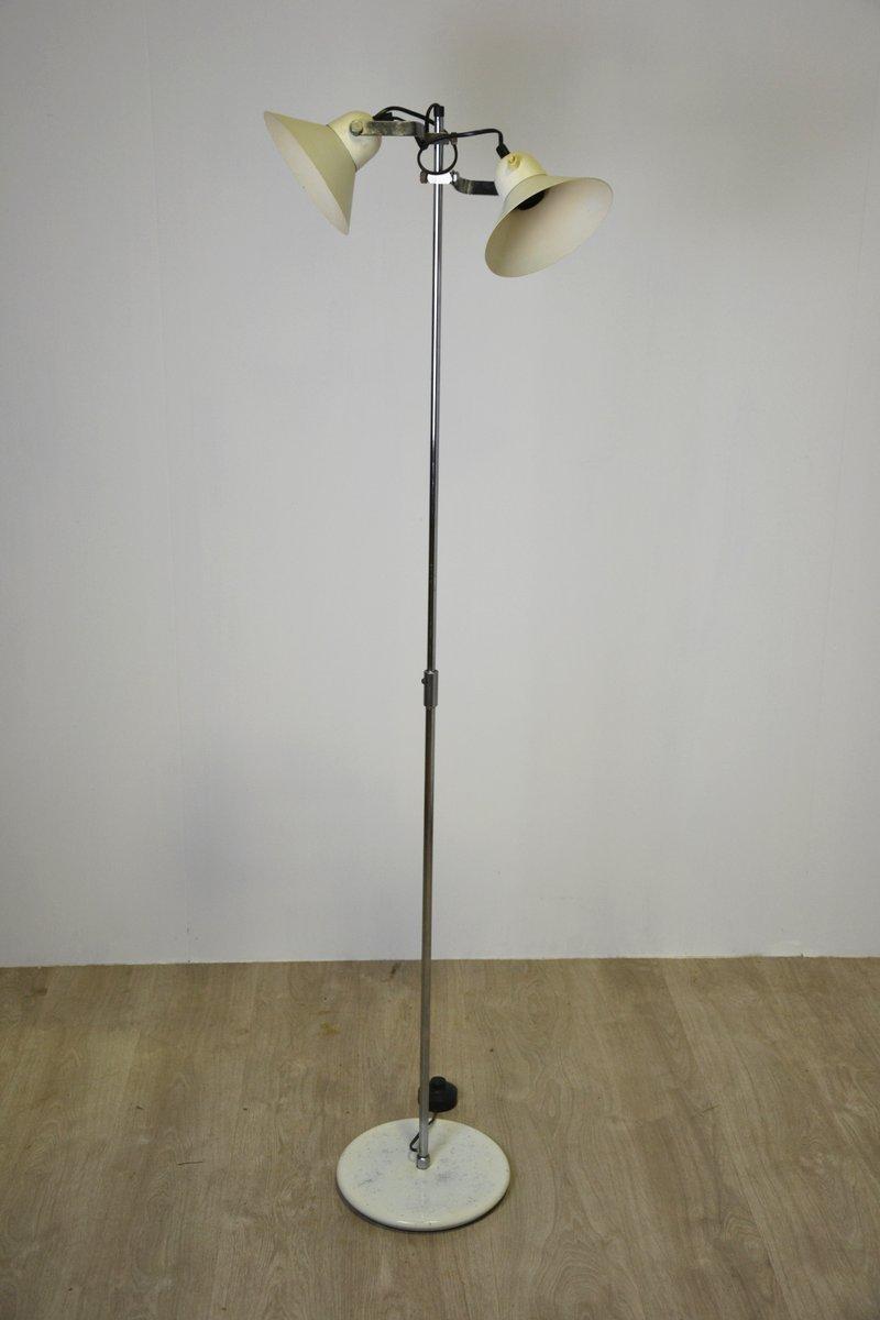 Stehlampe mit zwei Schirmen, 1960er