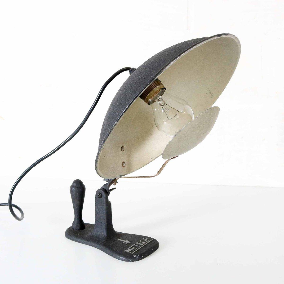 Belgische Vintage Eclipse Tischlampe von Meteor