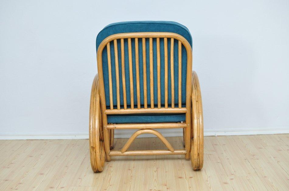 fauteuil en bambou 1950s en vente sur pamono. Black Bedroom Furniture Sets. Home Design Ideas