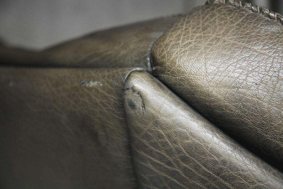 Canap vintage en cuir de buffle par berg furniture - Canape en cuir de buffle ...