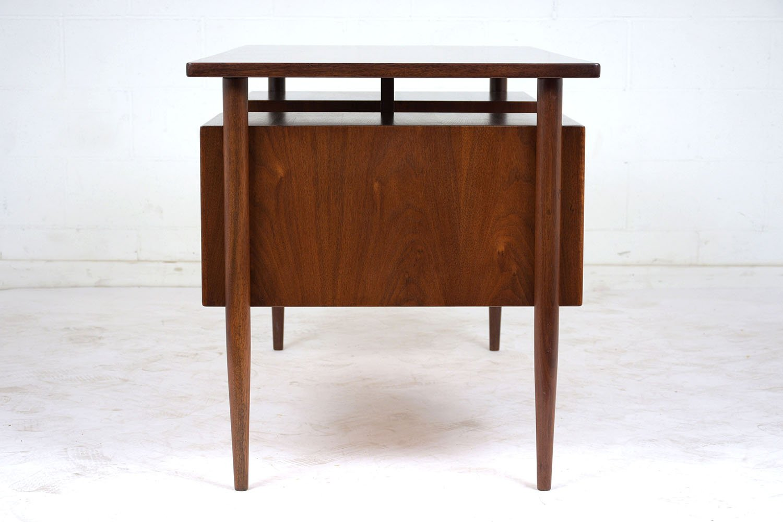 Mid Century Modern Teak Desk For Sale At Pamono