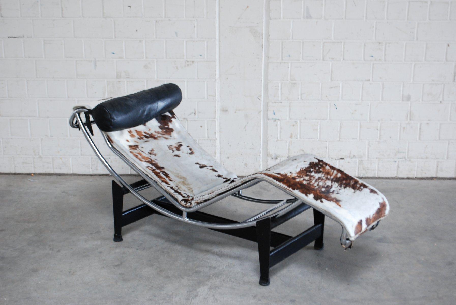 Lc4 chaise lounge von le corbusier für cassina 1970er bei pamono kaufen