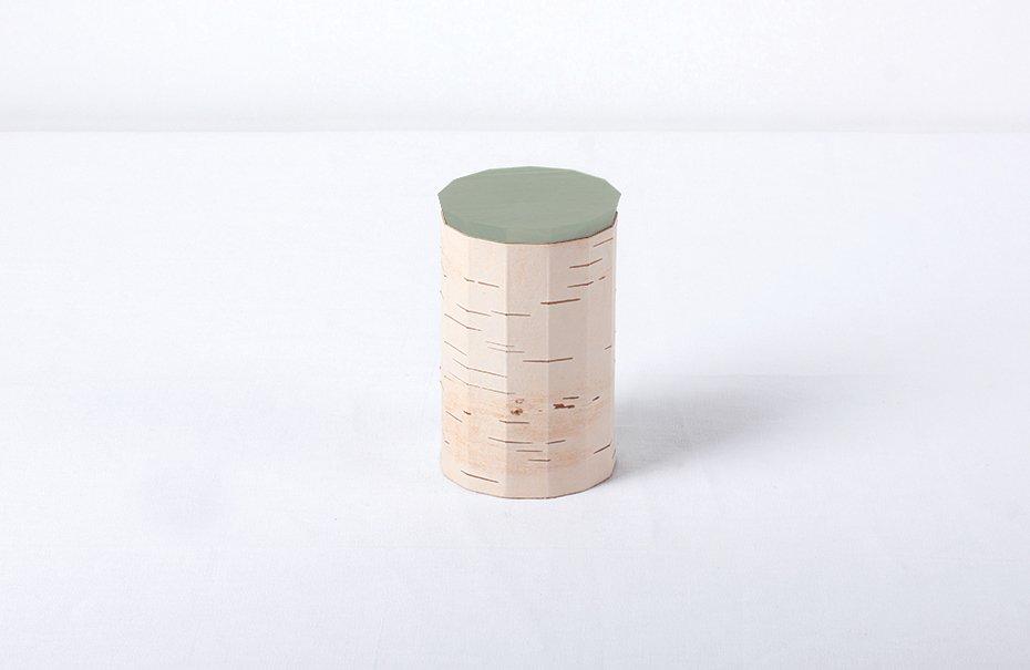 Contenitore plain tuesa con coperchio verde menta di anastasiya