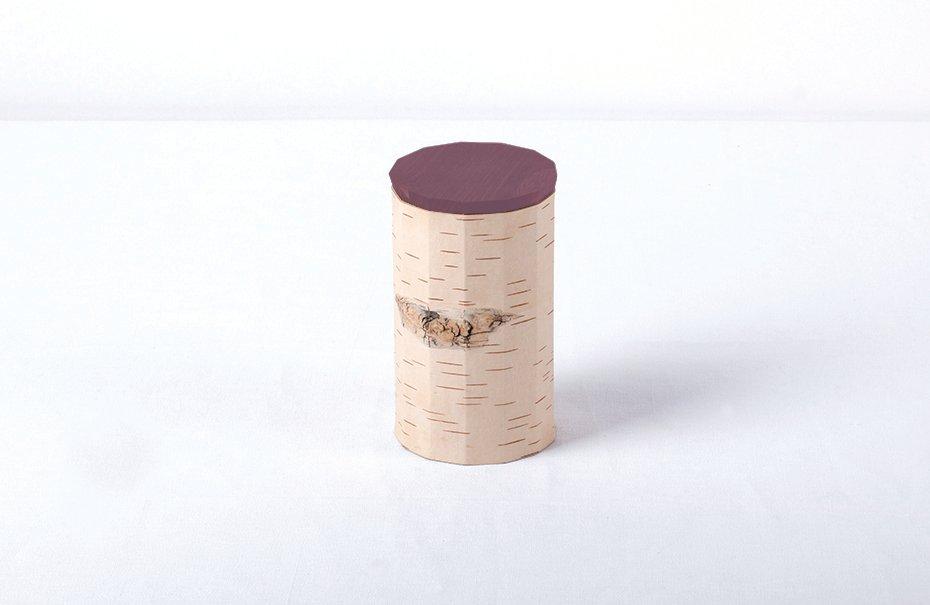 Tuesa Behälter mit lila Deckel von Anastasiya K...