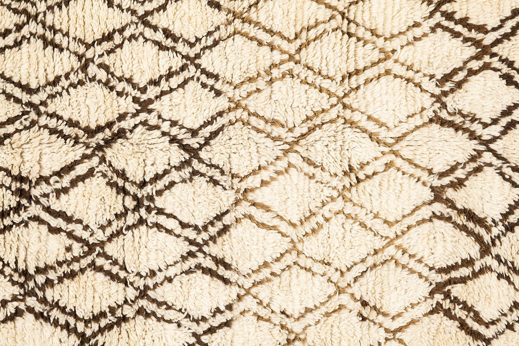 marokkanischer vintage berber teppich von talsint 1980er. Black Bedroom Furniture Sets. Home Design Ideas
