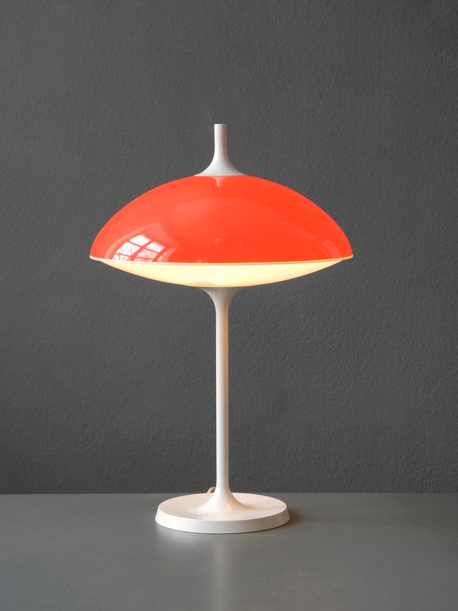 Große Space Age Tischlampe von Temde, 1960er