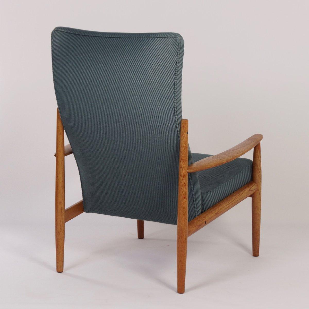 d nischer stuhl mit hoher r ckenlehne von grete jalk f r france s n 1960er bei pamono kaufen. Black Bedroom Furniture Sets. Home Design Ideas