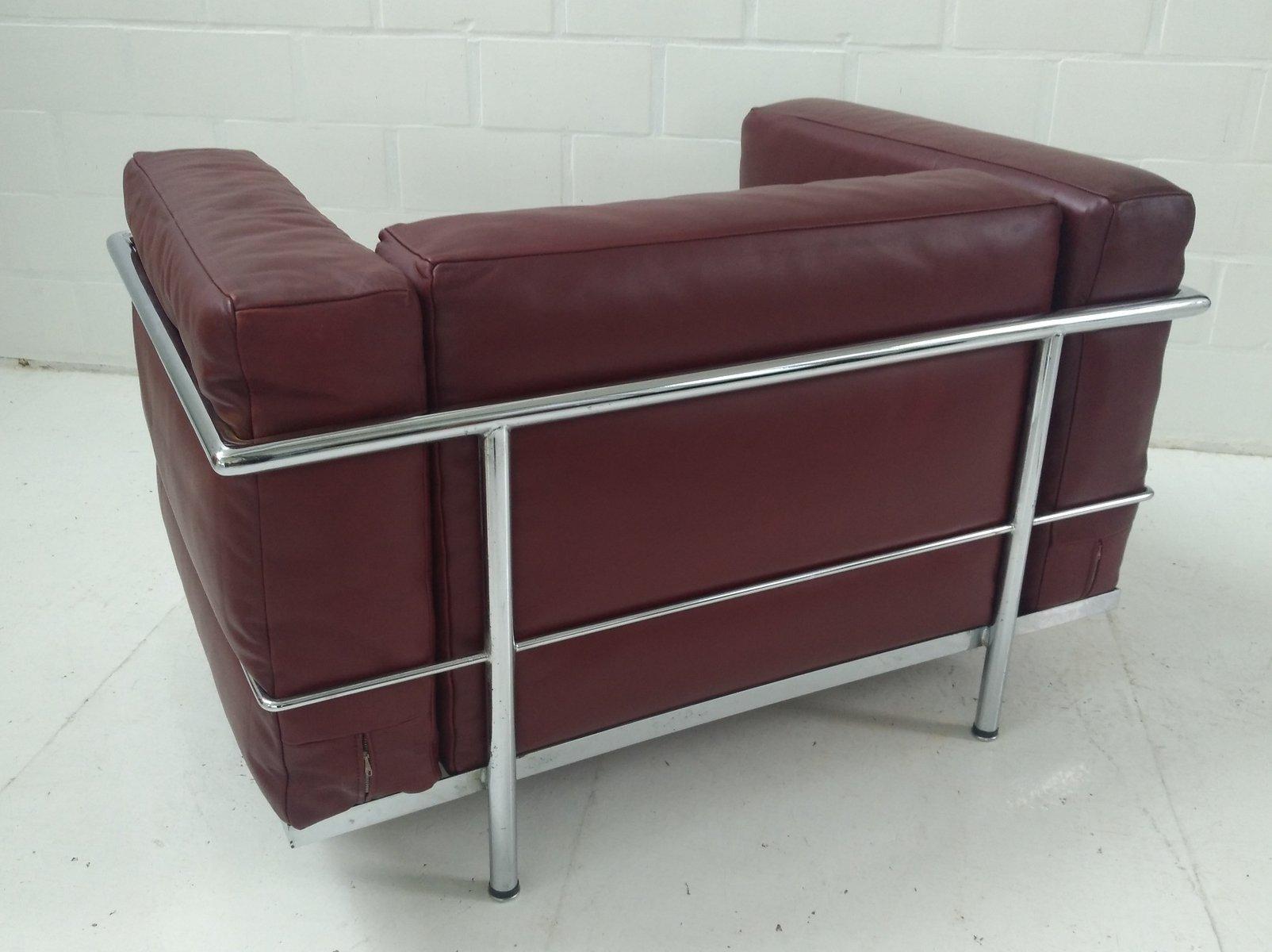 Model Lc101 Lc3 Armchair By Le Corbusier Pierre Jeanneret