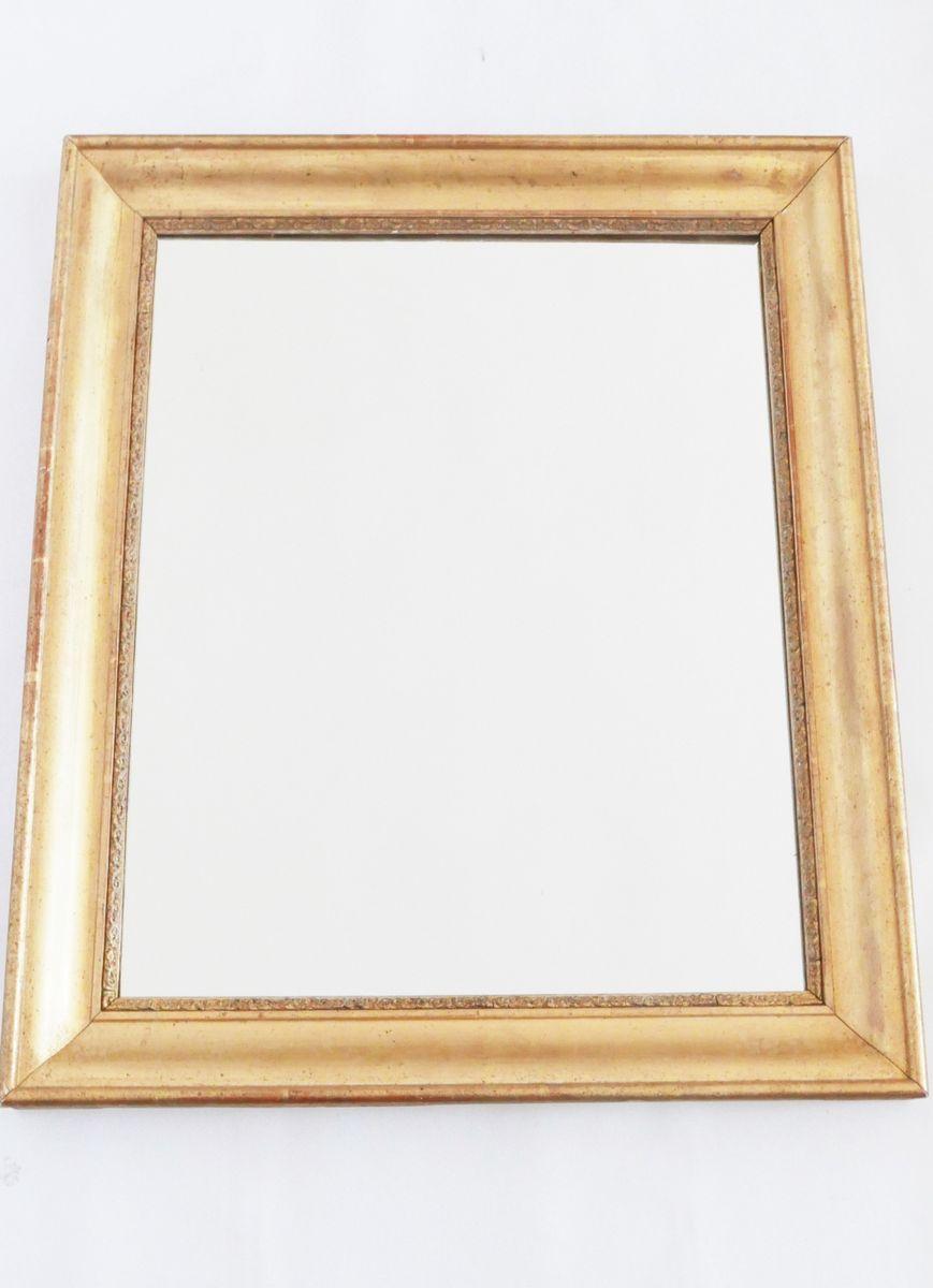 Specchio antico dorato francia in vendita su pamono - Specchio dorato antico ...