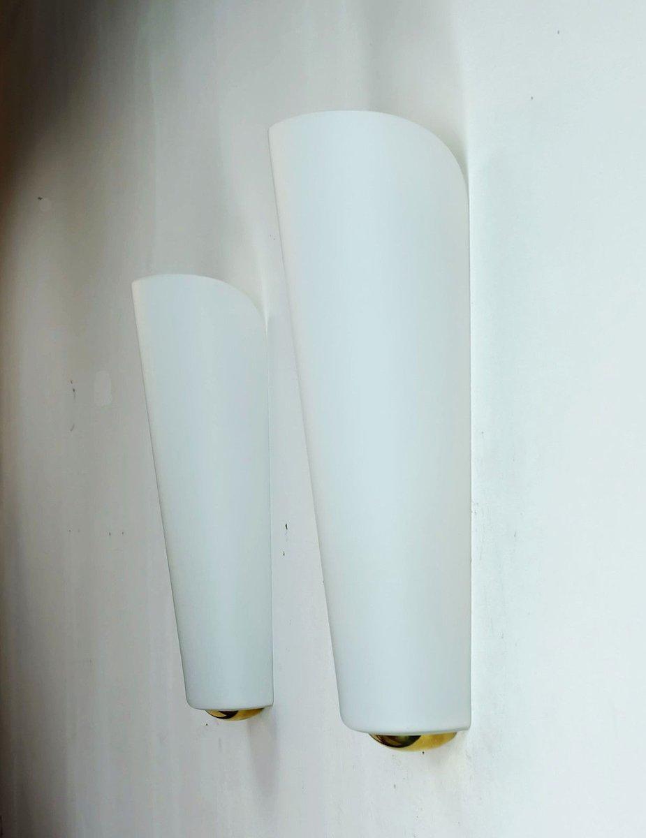 majora wandlampe von wilhelm wagenfeld f r peill putzler 1950er bei pamono kaufen. Black Bedroom Furniture Sets. Home Design Ideas
