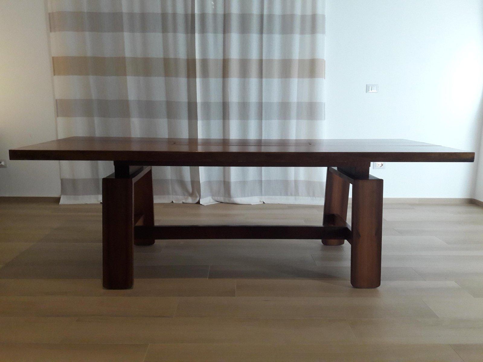 Tavolo da pranzo moderno di silvio coppola per bernini italia anni
