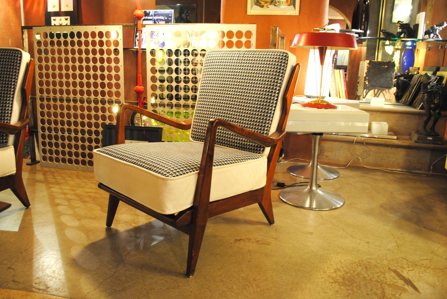 Italienische Vintage 516 Sessel Von Gio Ponti 1958 Bei Pamono Kaufen