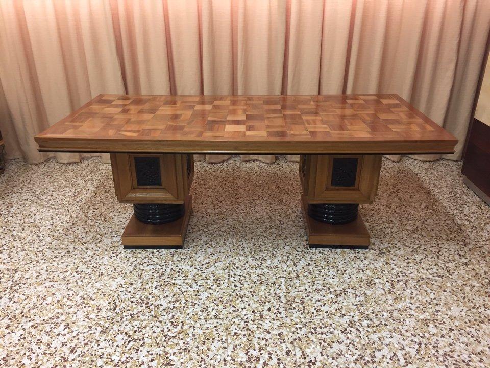 Französischer Art Deco Tisch, 1930er