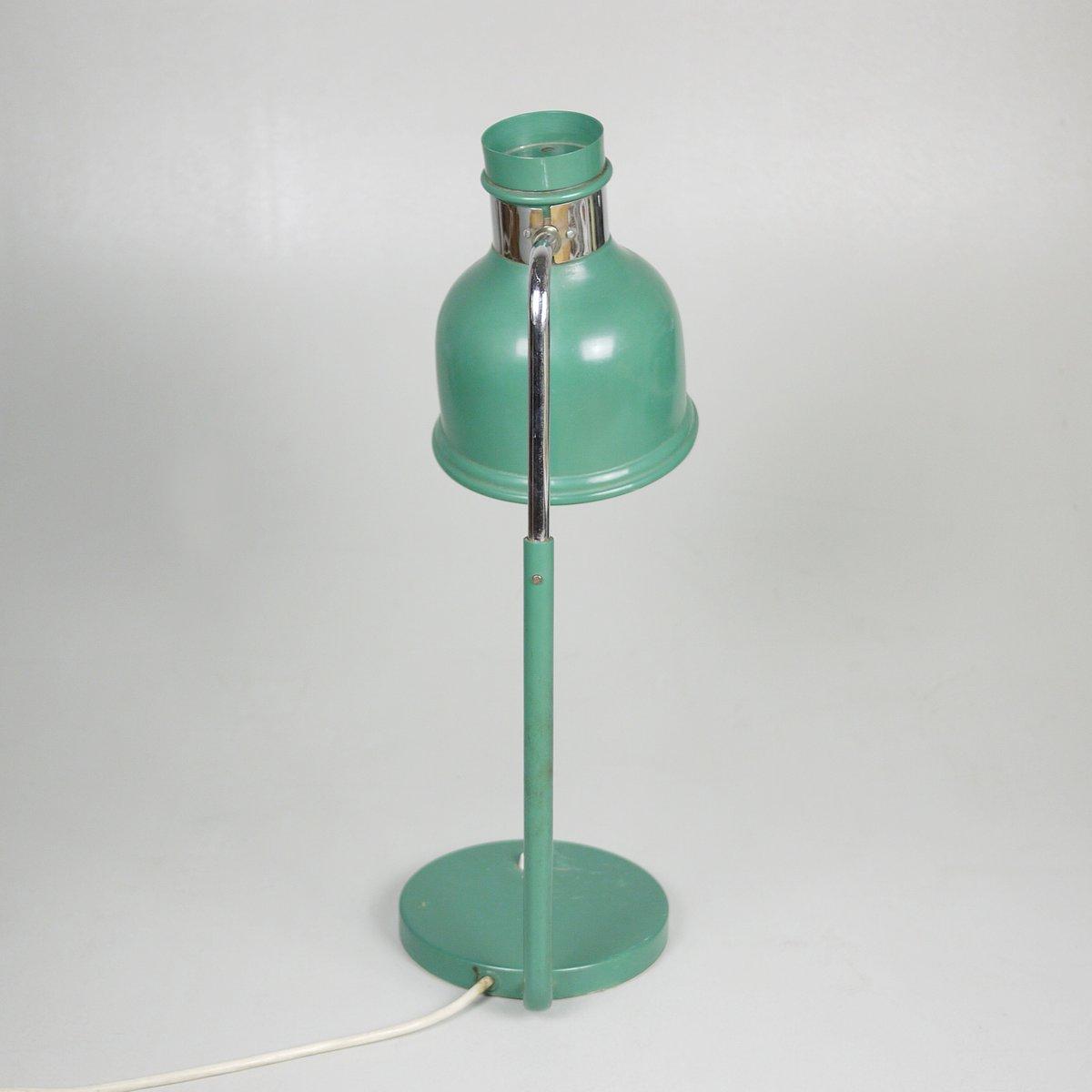 Lampe de bureau vintage industrielle verte 1970s en vente sur pamono - Lampe bureau industrielle ...