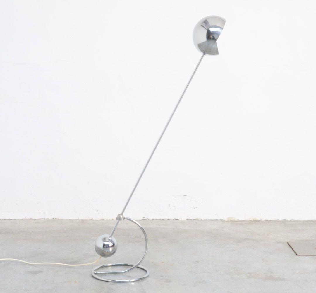 Modell 3S Stehlampe von Paolo Tilche für Sirrah, 1972
