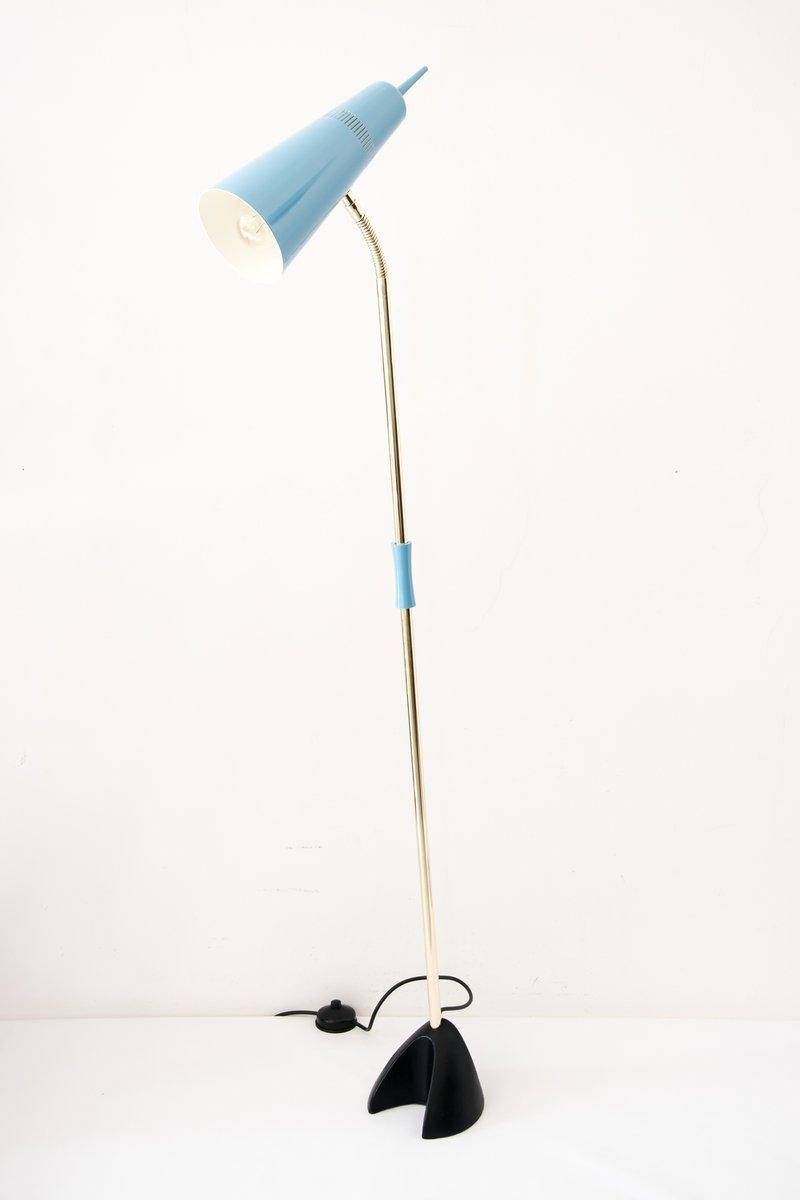 Wiener Mid-Century Stehlampe, 1950er