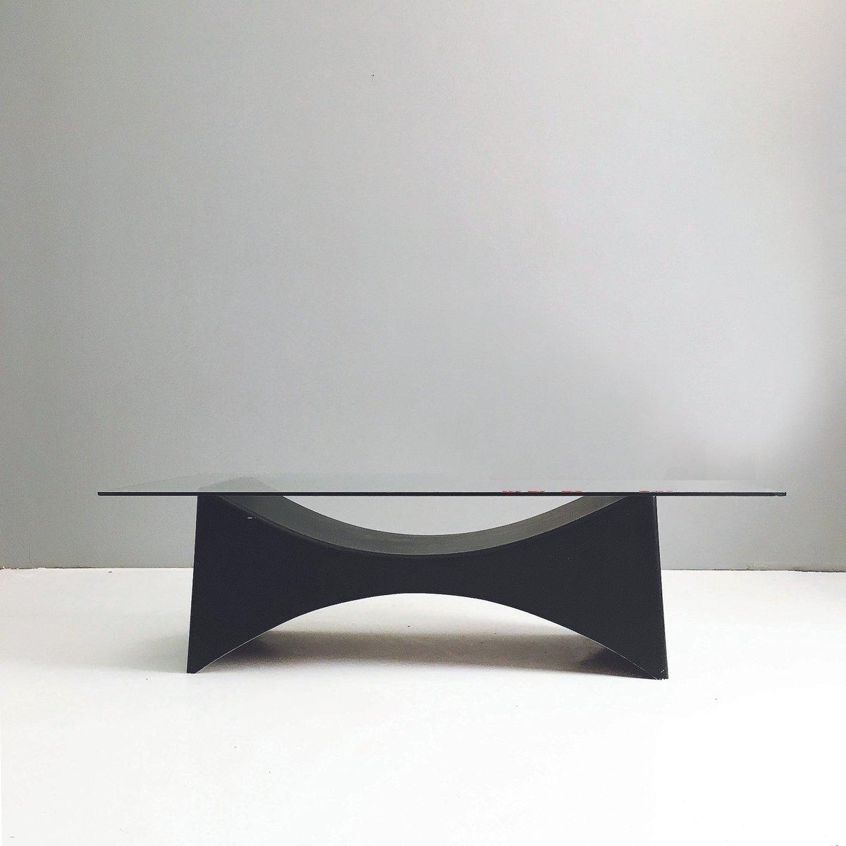 Minimalistischer Couchtisch, 1960er