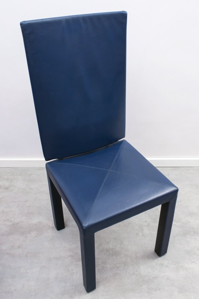 arcalia stuhl mit hoher r ckenlehne von paolo piva f r b b italia 1980er bei pamono kaufen. Black Bedroom Furniture Sets. Home Design Ideas