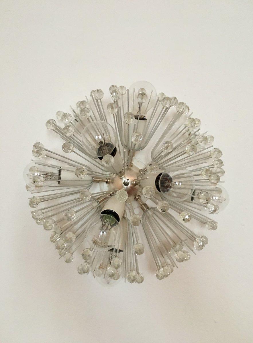 Snowball Wandlampe von Emil Stejnar für Rupert Nikoll, 1950er