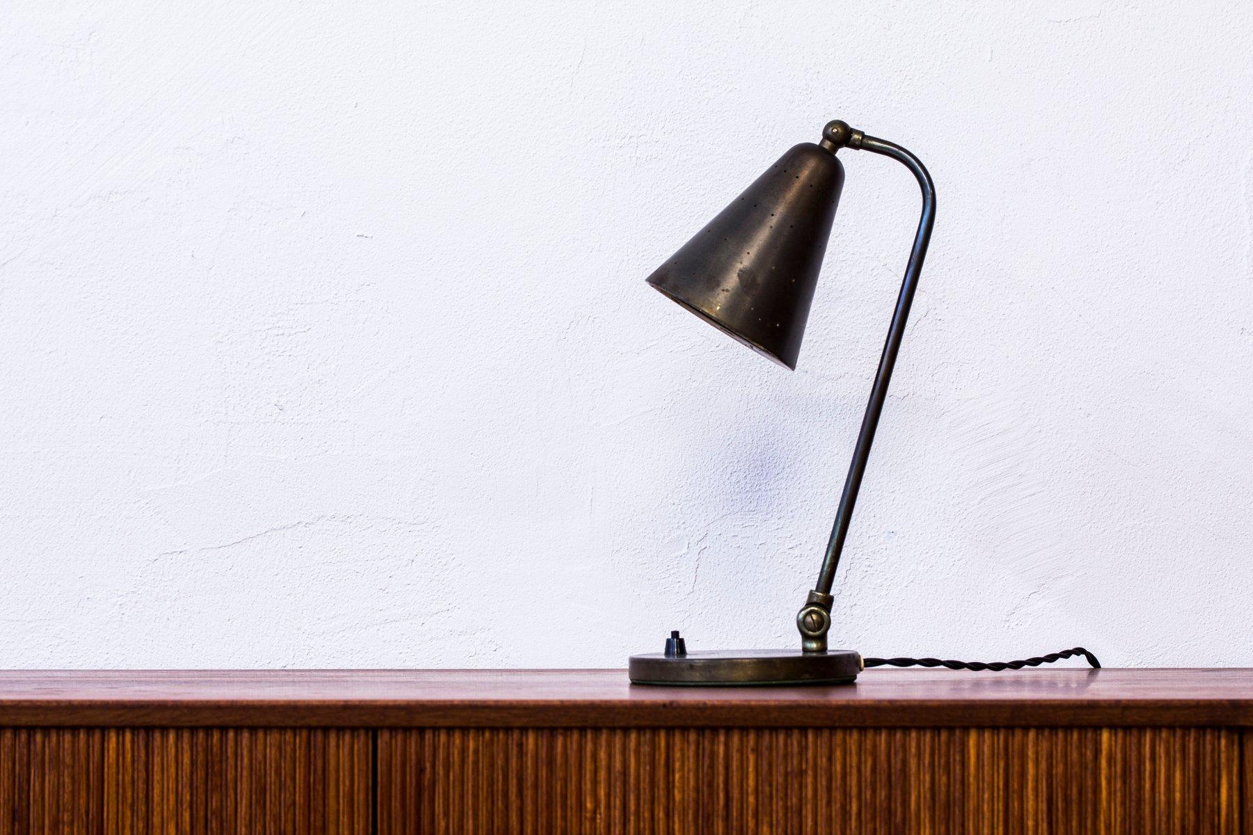 Dänische Tischlampe von Svend Aage Holm Sørensen, 1950er