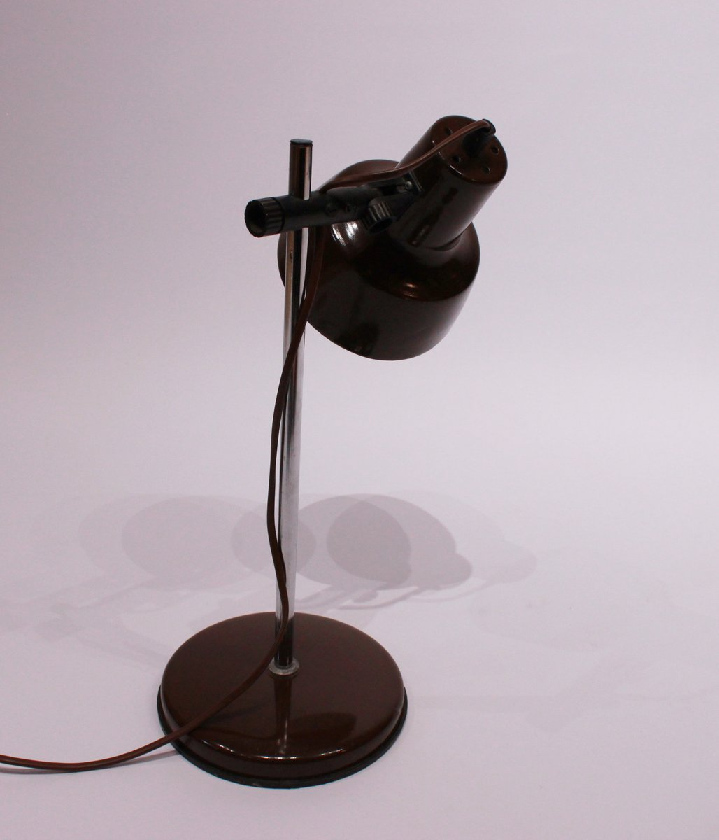Vintage horn lamp handmade