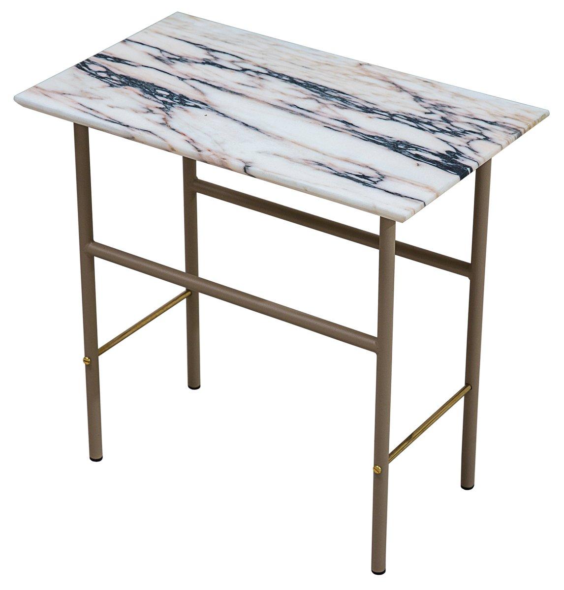 beistelltisch von lind almond f r novocastrian bei pamono kaufen. Black Bedroom Furniture Sets. Home Design Ideas