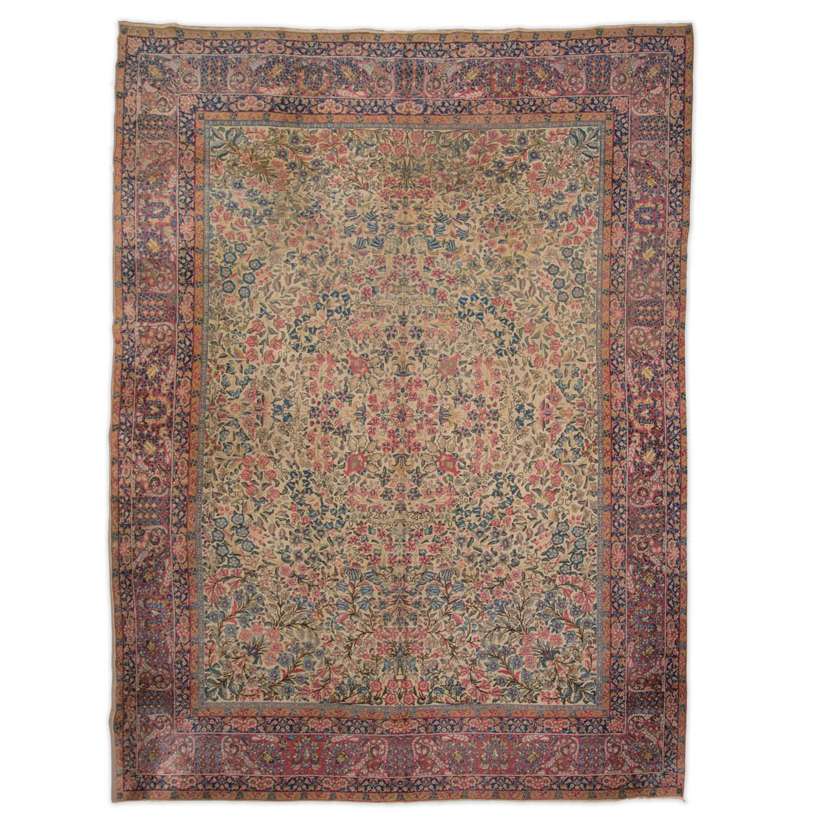 Antique Persian Rug With Fl Decoration 1900s