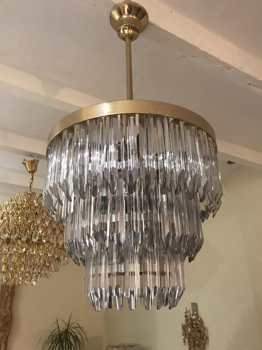 Vintage murano crystal chandelier from camer glass 1960s for sale vintage murano crystal chandelier from camer glass 1960s aloadofball Gallery