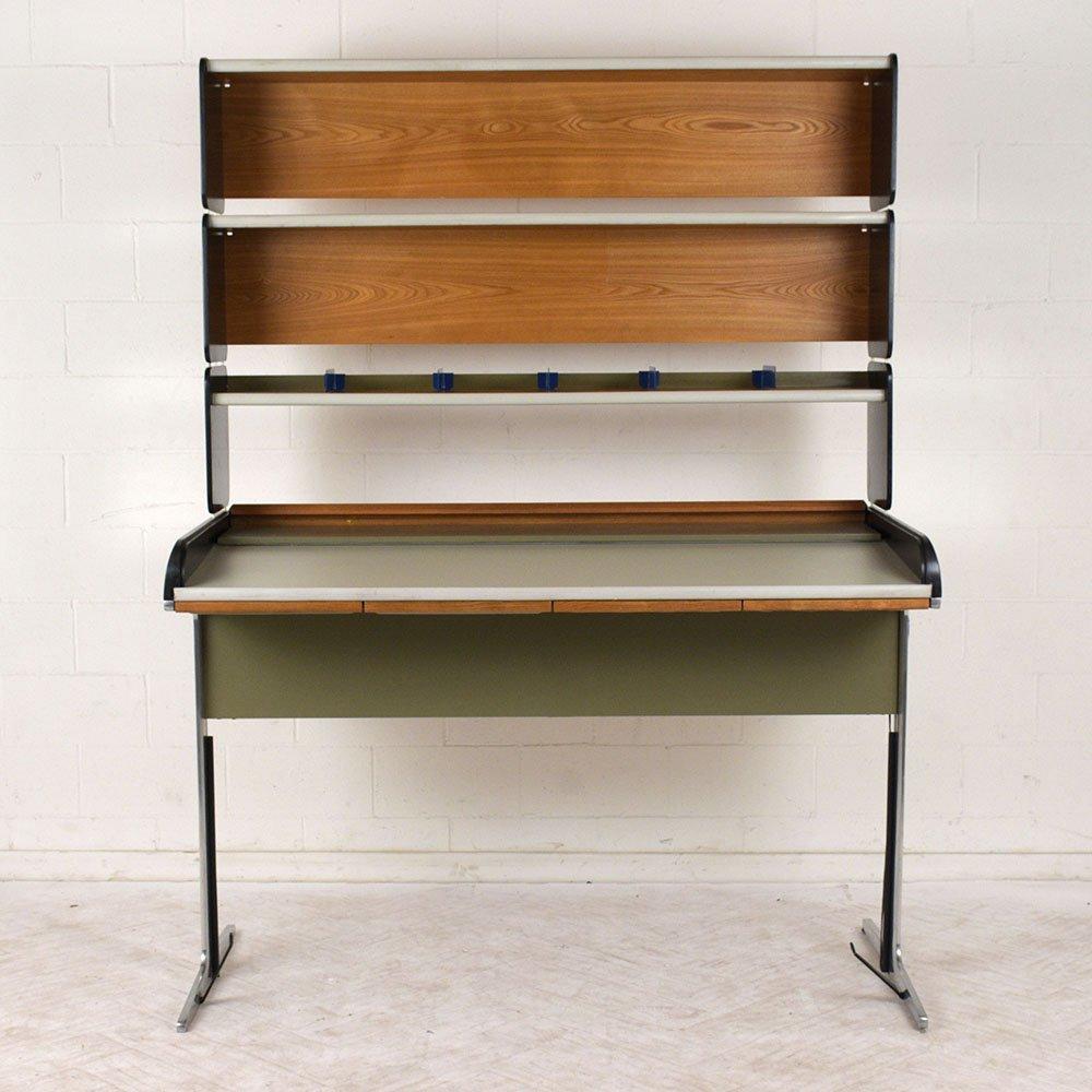 mid century schreibtisch von george nelson f r herman miller bei pamono kaufen. Black Bedroom Furniture Sets. Home Design Ideas