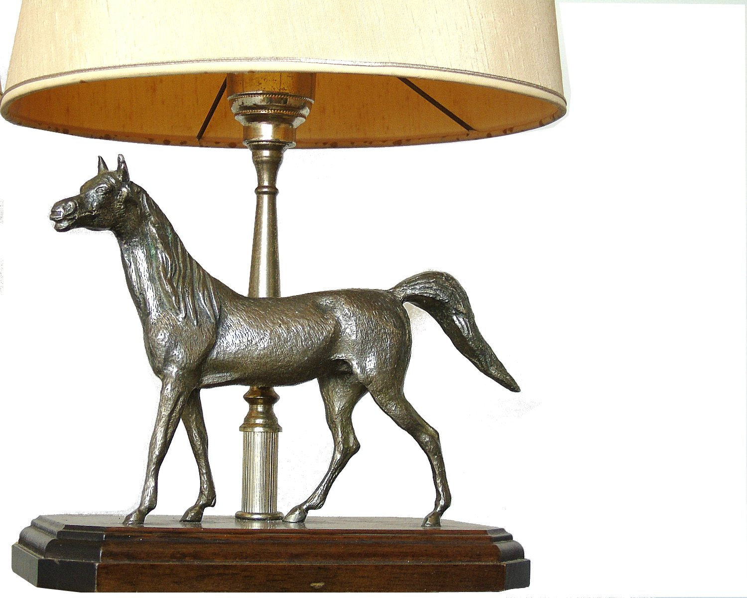 Vintage french sculptural horse table lamps 1970s set of 2 for 97500 aloadofball Gallery