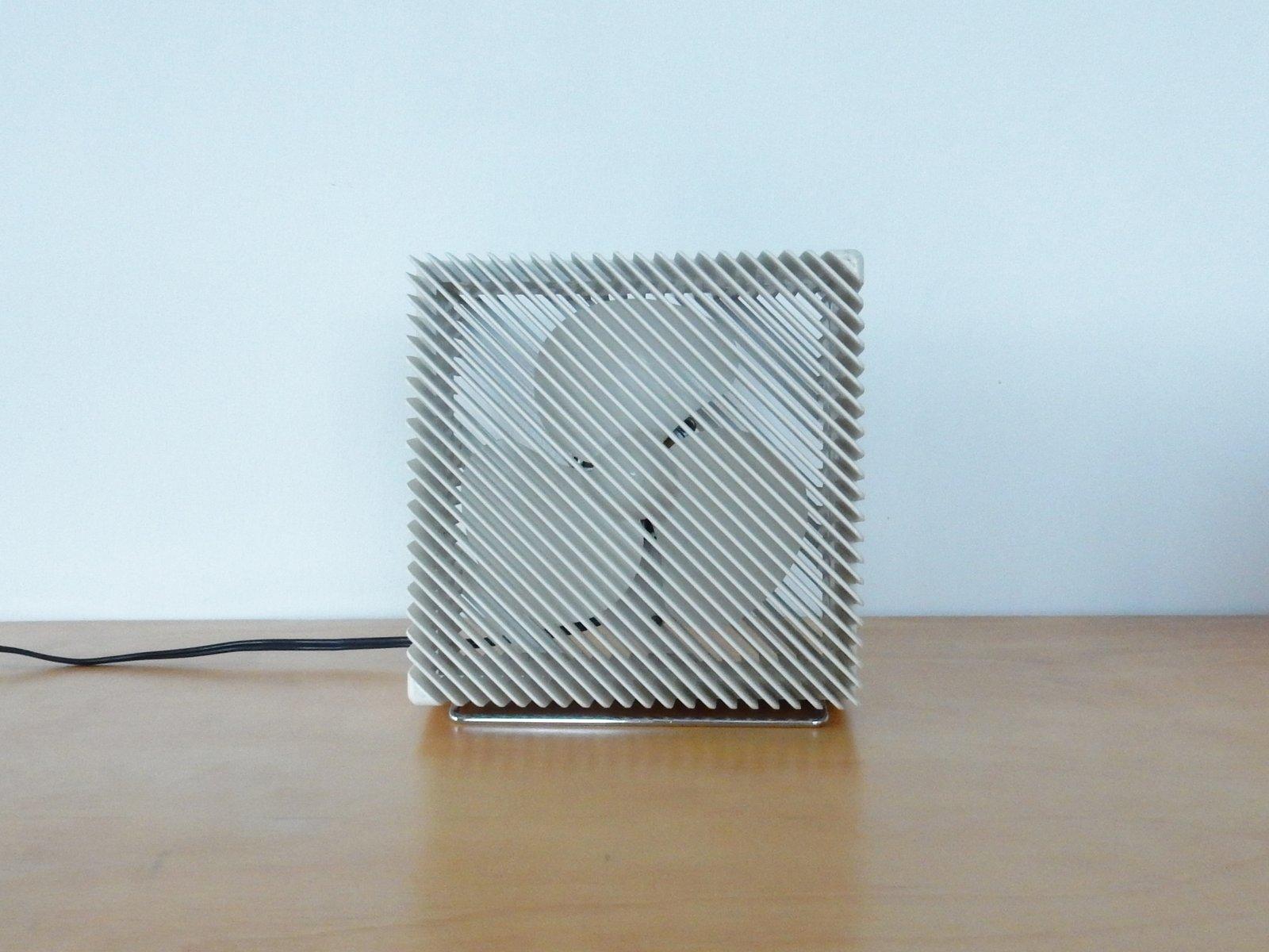 Ventilatore da tavolo ariante di marco zanuso per vortice
