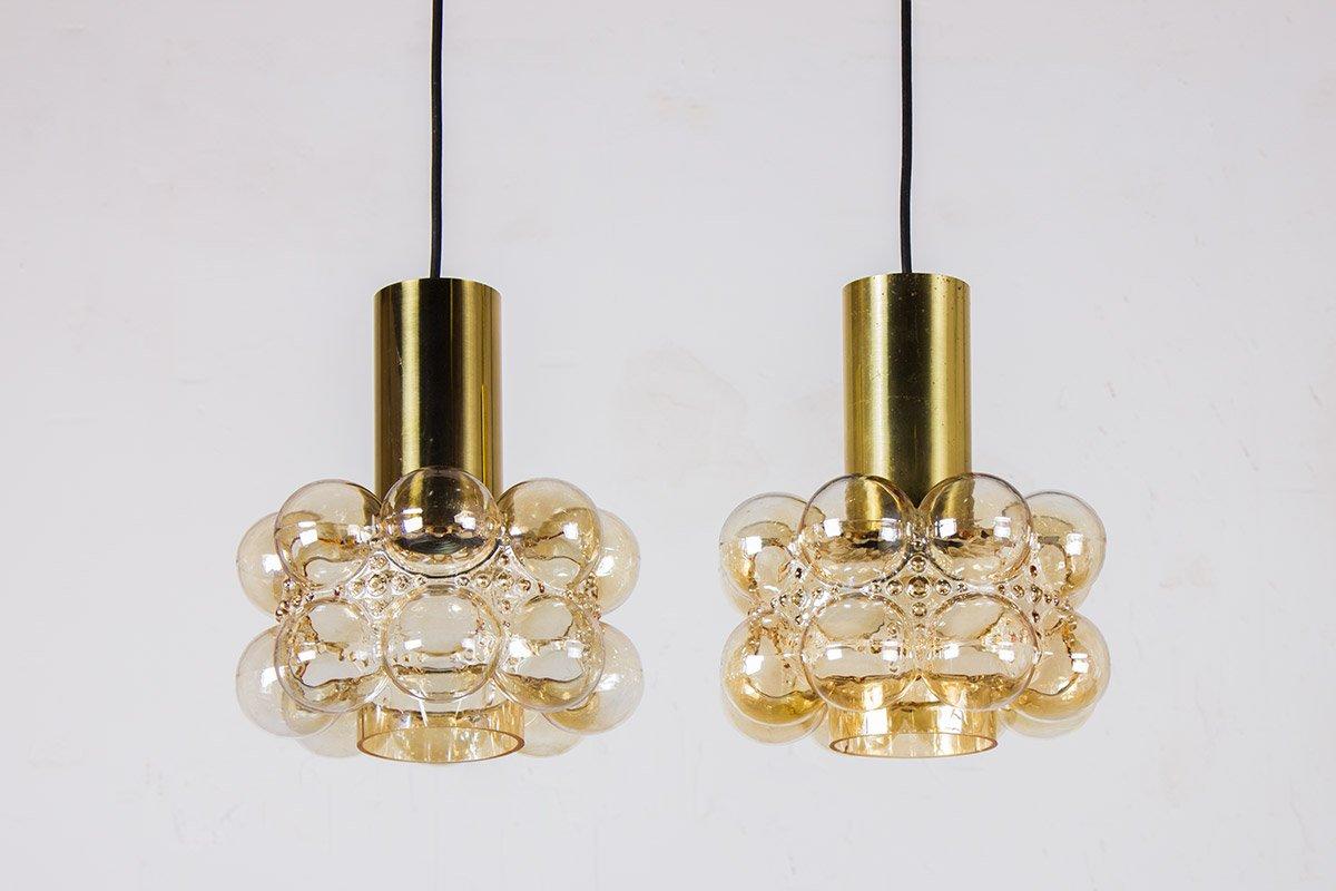 Bubble Glas Deckenlampen von Helena Tynell & Heinrich Gantenbrink für ...