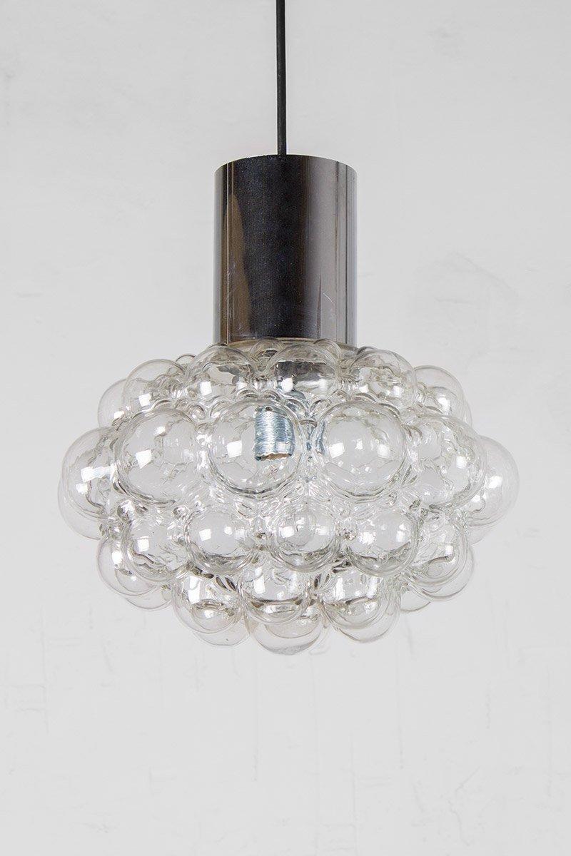 Mid-Century Bubbleglas Lampe von Helena Tynell & Heinrich Gantenbrink ...