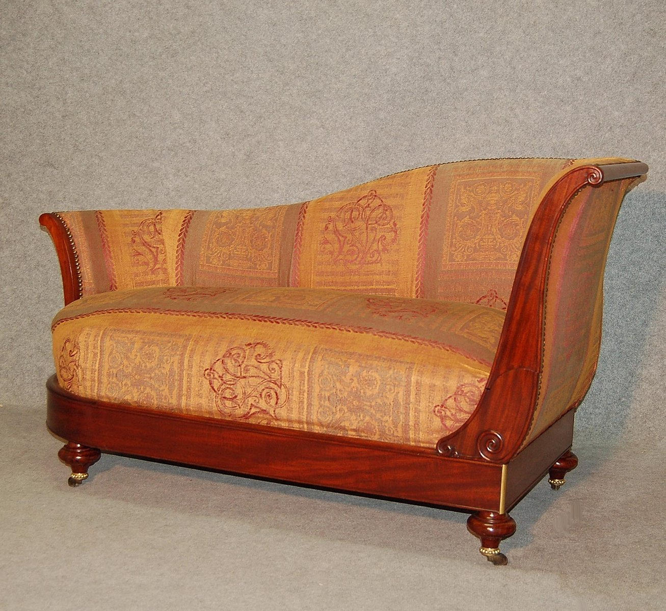 Chaise longue antique en acajou de dubois paris en vente sur pamono - Magasin chaise longue paris ...