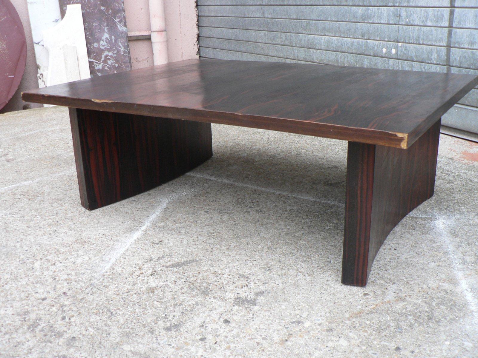 art d co makassarholz couchtisch bei pamono kaufen. Black Bedroom Furniture Sets. Home Design Ideas