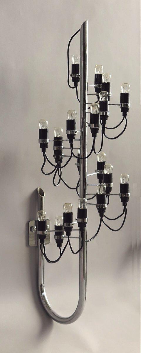 Vintage Modell 226 Wandlampen von Gino Sarfatti für Arteluce, 1970er, ...