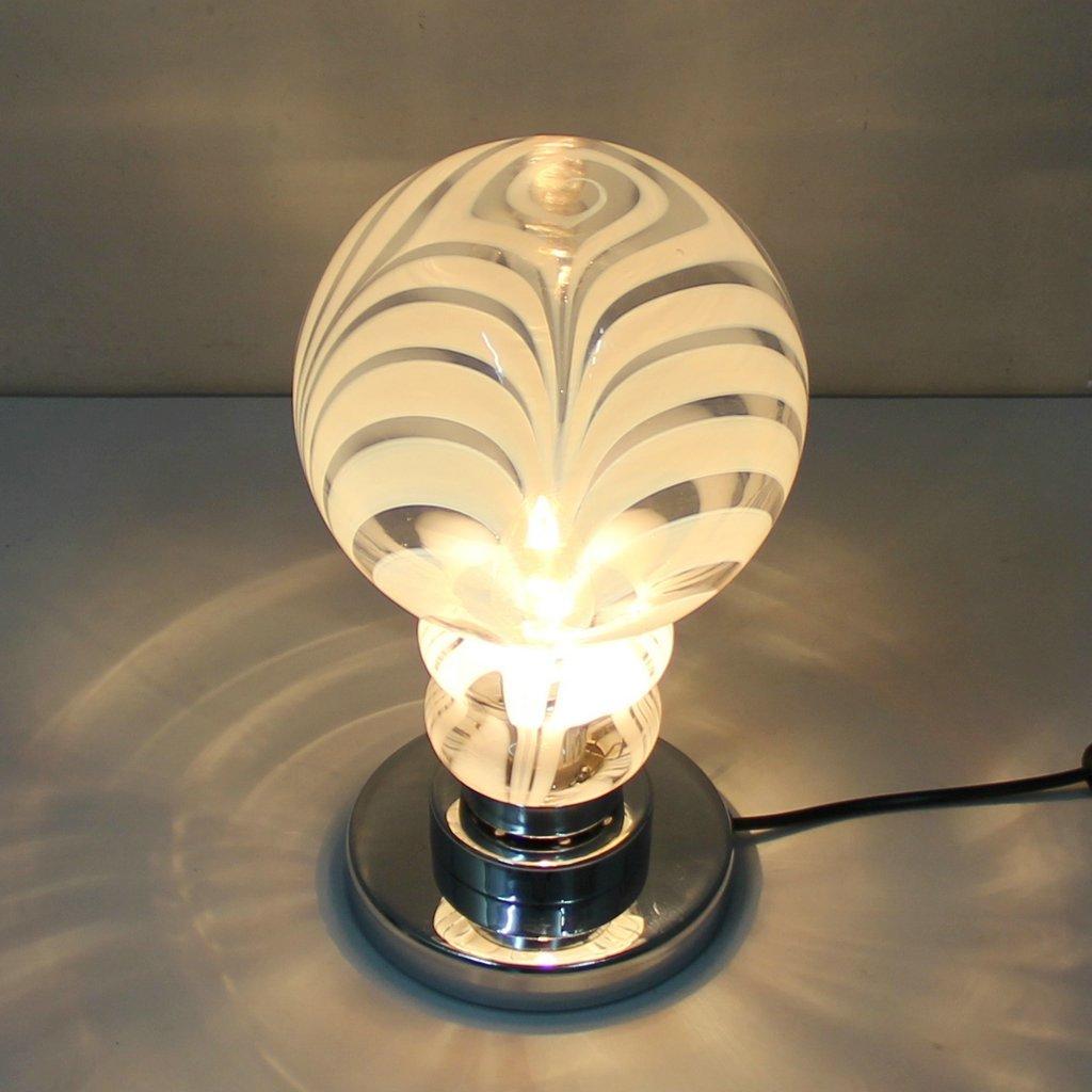 Vintage tischlampen in murano glas 2er set bei pamono kaufen for Tischlampen vintage