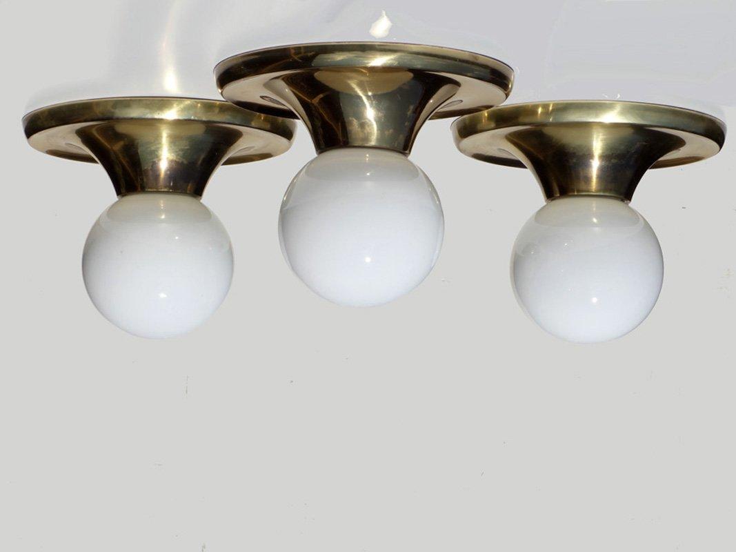 Modell Light Ball Deckenlampen von Castiglioni Brothers für Flos, 1960...