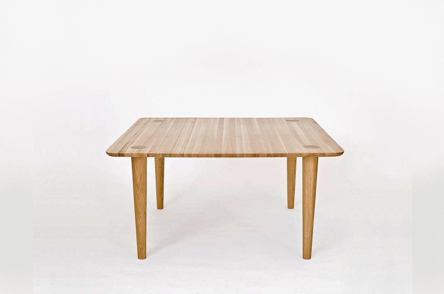 quadratischer kalahari tisch von claesson koivisto rune bei pamono kaufen. Black Bedroom Furniture Sets. Home Design Ideas