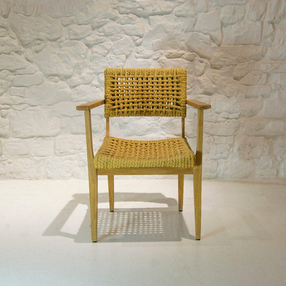 Stuhl von Audoux et Minet für Vibo Vesoul, 1950er