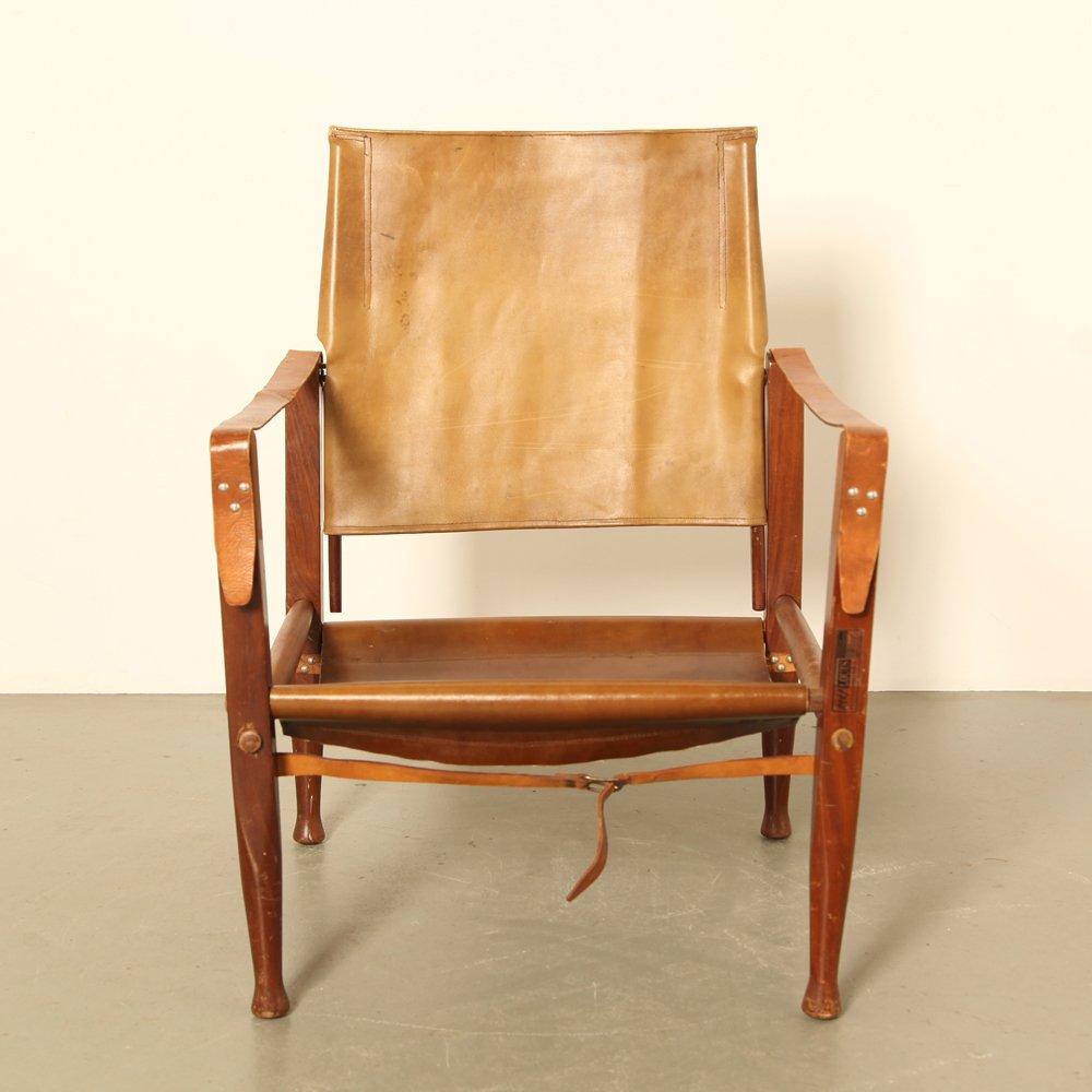 Genial Vintage Safari Chair By Kaare Klint For Rad. Rasmussen, 1940s