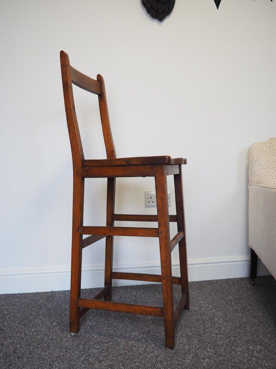 19th Century High Chair In Mahogany
