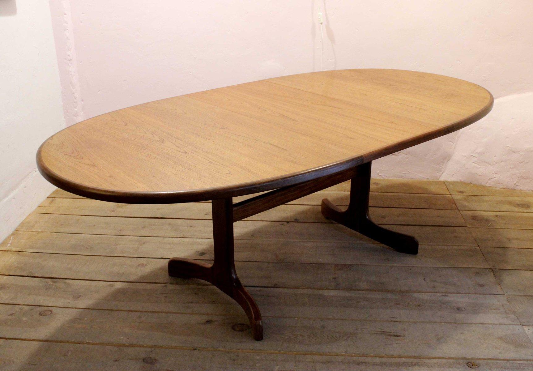 ausziehbarer esstisch von g plan 1960er bei pamono kaufen. Black Bedroom Furniture Sets. Home Design Ideas